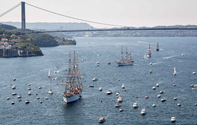 24. July 2014. Tall Ships' Races Bergen. PHOTO: EIVIND SENNESET