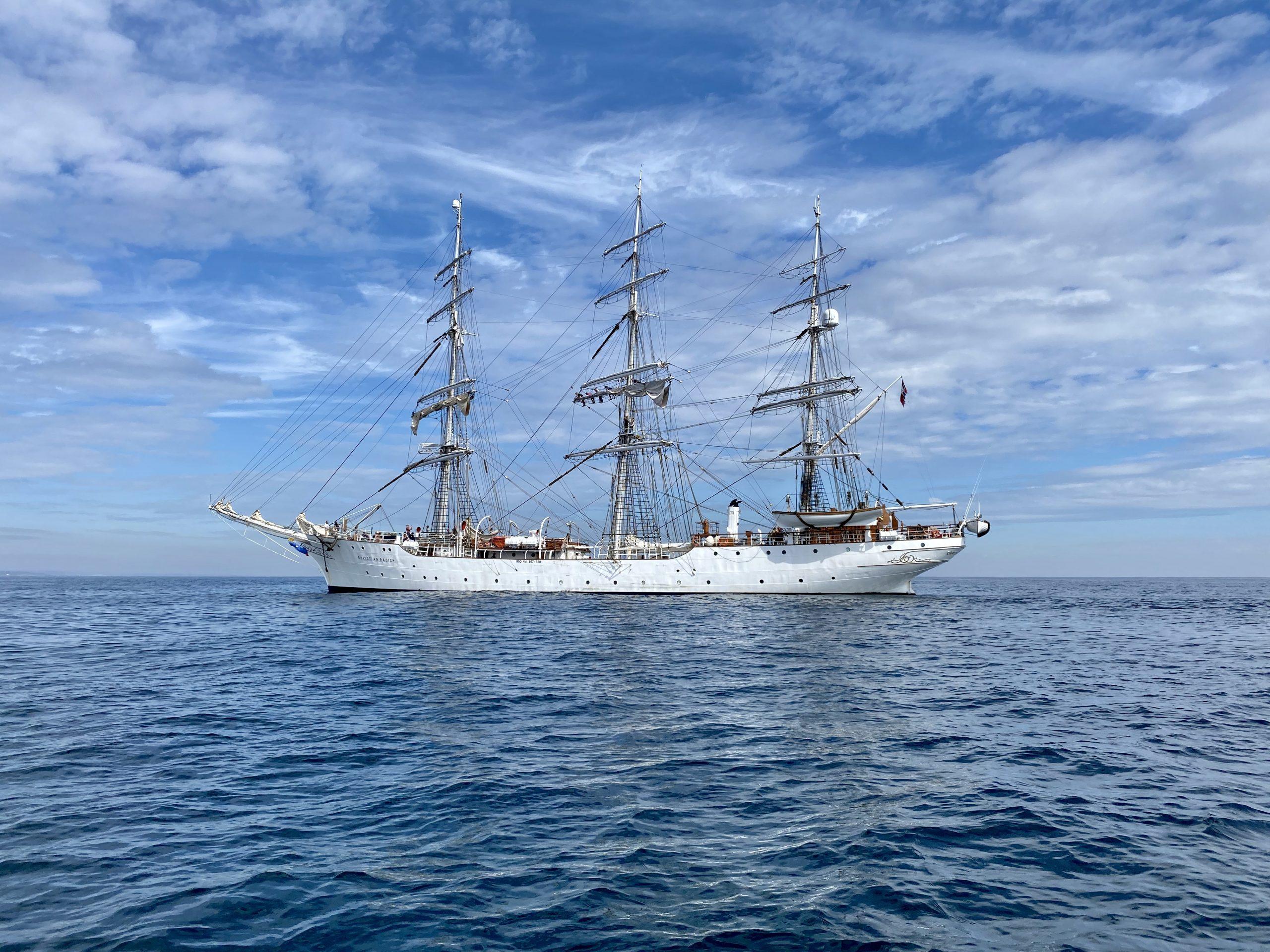 A Coruña Lisbon Tall Ships Races Magellan Elcano Christian Radich